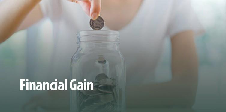 Financial-Gain