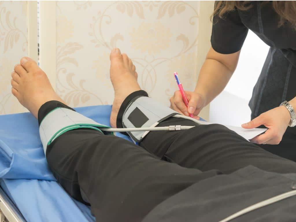 peripheral artery disease test